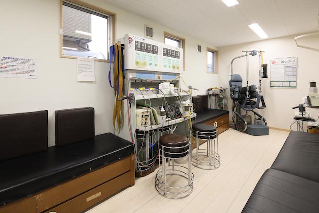 現在院内にある低周波治療器